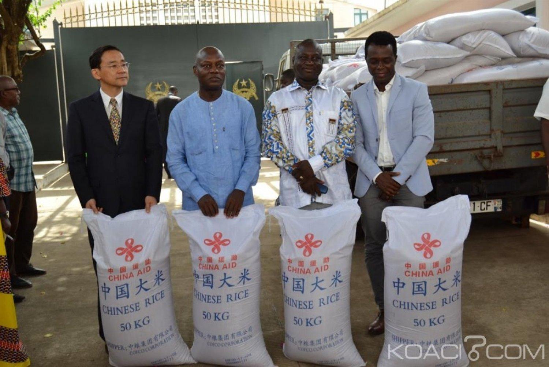Guinée-Bissau :  Un ministre accusé d'avoir détourné du riz offert par la Chine