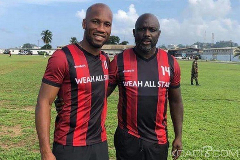 Nigeria : Des stars Weah, Drogba, Eto'o vont livrer un match d'au revoir au gouverneur de Lagos