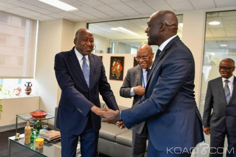 Côte d'Ivoire : A Washington, Gon met  l'accent sur la nécessité de l'orientation stratégique des ressources et investissements pour l'emploi des  jeunes