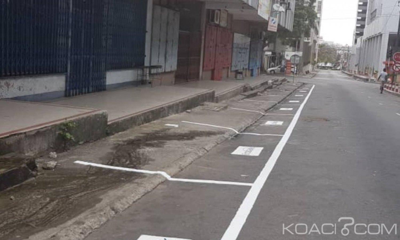 Côte d'Ivoire : Plateau, plutôt que de construire des parkings, on privatise l'espace public