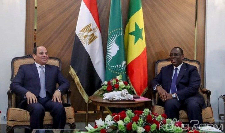 Sénégal: Visite d' Al Sisi à Dakar, signatures d'accords et échange sur la Zlecaf au menu