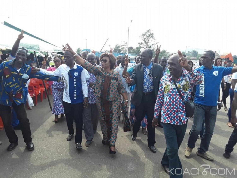 Côte d'Ivoire : FPI, lancement à Duekoué de la fête de la liberté, Marie Odette Lorougnon « nous attendons un million de personnes »