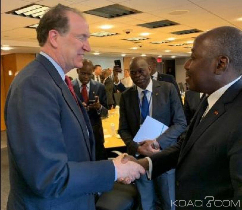 Côte d'Ivoire : Depuis Washington, le nouveau Président de la Banque mondiale entend apporter tout le soutien nécessaire au pays