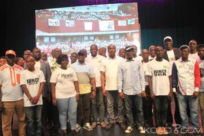Côte d'Ivoire : Abidjan, Mamadou Touré invite des jeunes proches du RHDP à s'engager dans le développement et la stabilité du pays
