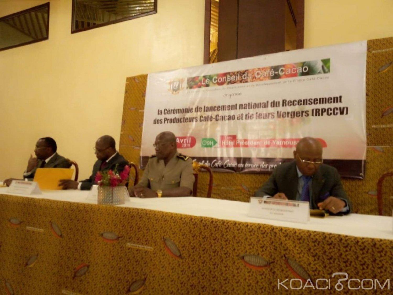 Côte d'Ivoire: Yamoussoukro, le Conseil Café-Cacao lance le processus de recensement des producteurs de Café-Cacao et leurs Vergers
