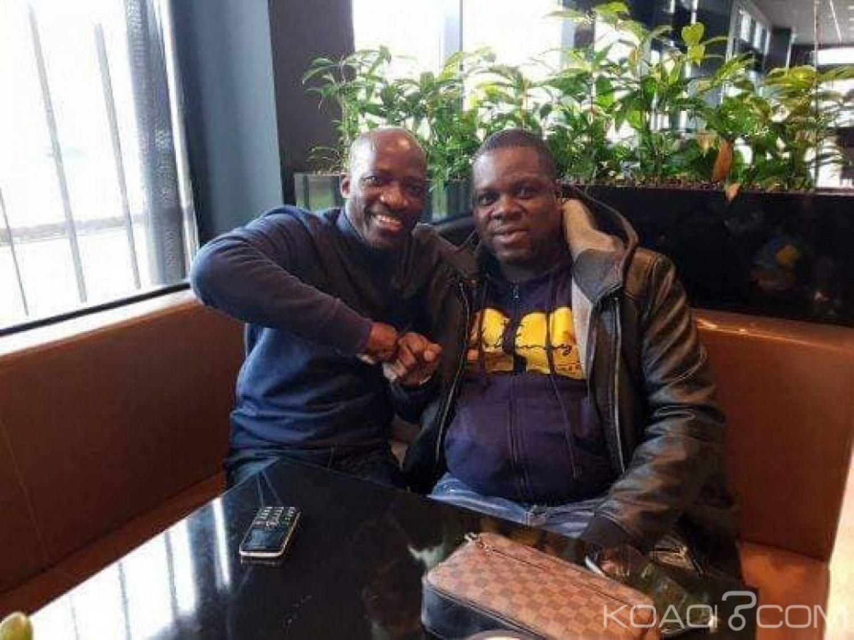 Côte d'Ivoire : En Hollande Blé a rencontré les artistes zouglou Yodé et Siro