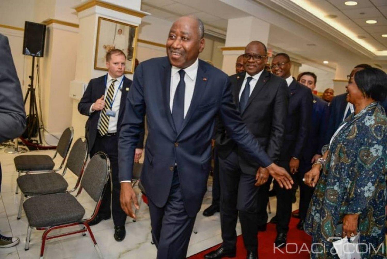 Côte d'Ivoire : Amadou Gon réitère  son appel à  la diaspora de venir  investir au pays et s'engage à faciliter leur installation