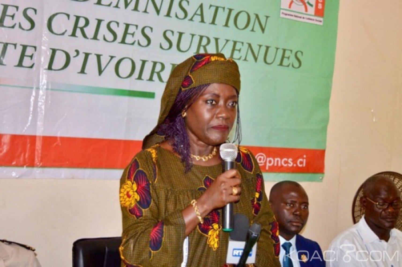 Côte d'Ivoire : Depuis le Worodougou , Mariatou Koné rassure que toutes  les victimes des crises seront prises en compte