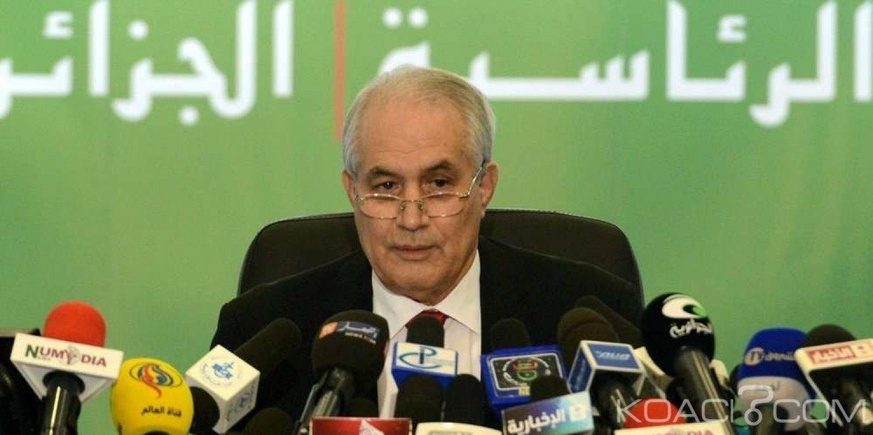 Algérie : Contesté par la rue, le président du Conseil constitutionnel, Tayeb Belaiz rend le tablier