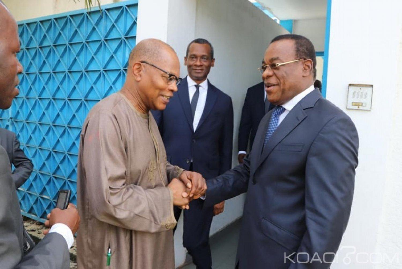 Côte d'Ivoire : 2020, Chambas échange avec Affi «sur des élections crédibles et transparentes»