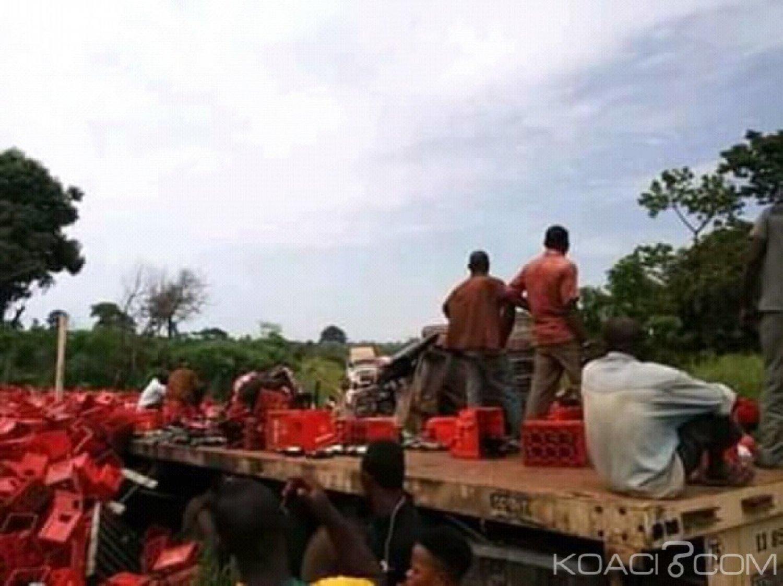 Côte d'Ivoire : Sur l'axe Bouaké-Djébonoua, violente collision entre deux camions