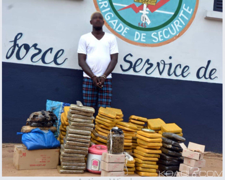 Côte d'Ivoire : Un dealer surpris en plein sommeil par la gendarmerie dans la commune d'Abobo