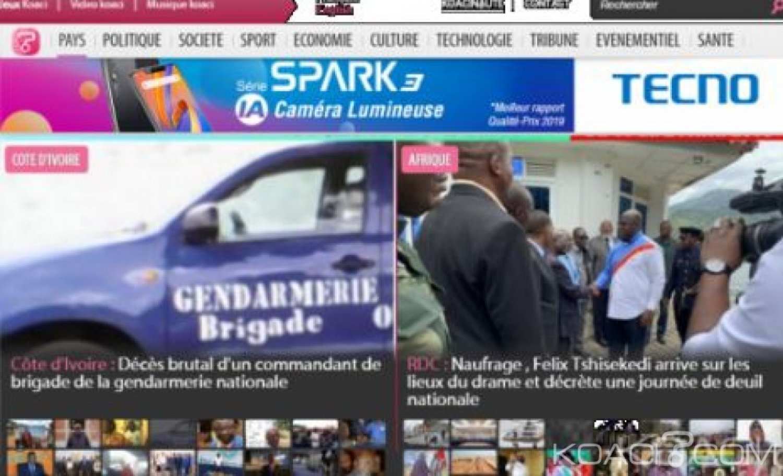 Côte d'Ivoire : RSF note Moins d'atteintes à la liberté de la presse en 2018,  le pays progresse de la 81è à la 71è place