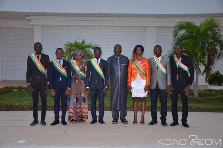 Côte d'Ivoire: Ahoussou Jeannot  félicite et encourage les jeunes parlementaires pour leurs actions