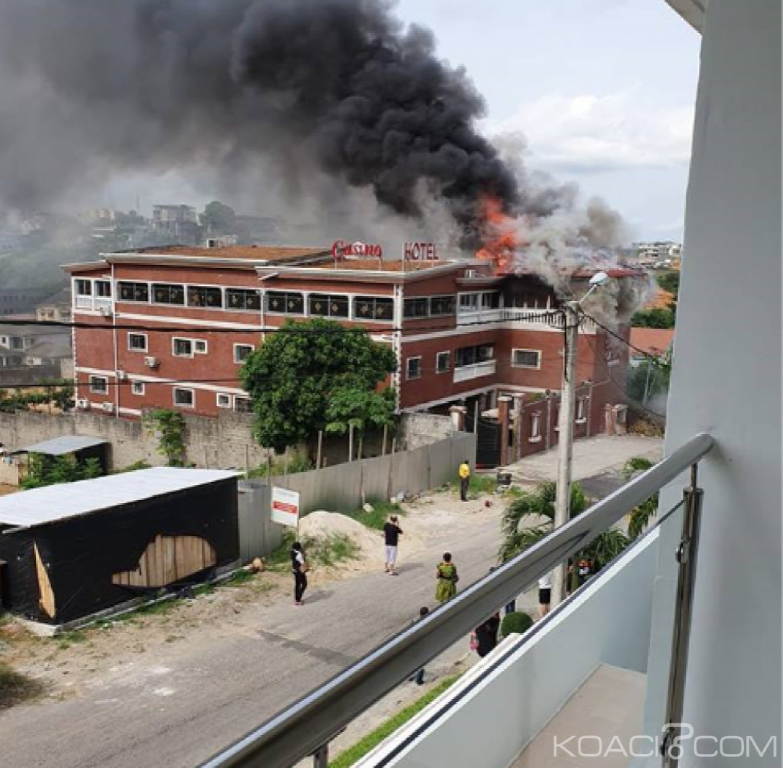 Côte d'Ivoire : A Cocody, départ d'incendie dans un hôtel, panique mais le pire évité