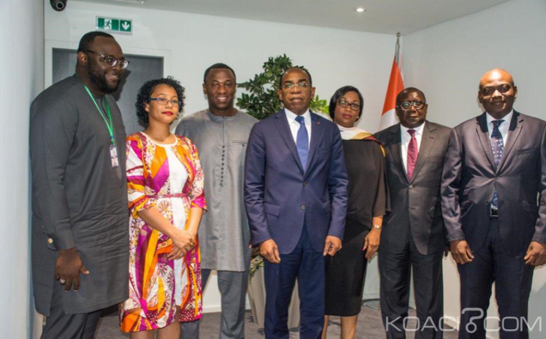 Côte d'Ivoire : Le  ministre Isaac De souhaite l'ouverture d'un bureau de Facebook à Abidjan