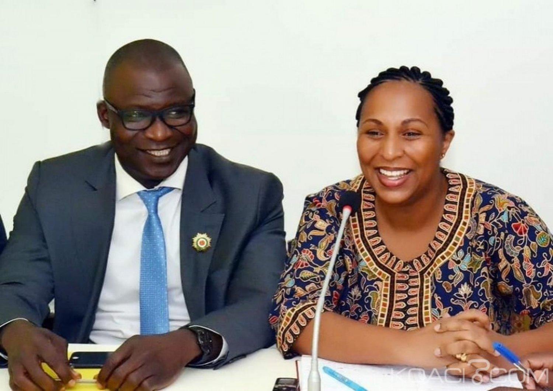 Côte d'Ivoire : Démission de Youté de Vox Populi, la réaction de Yasmina « le groupe parlementaire est à ce jour constitué de dix courageuses personnalités qui entendent poursuivre »