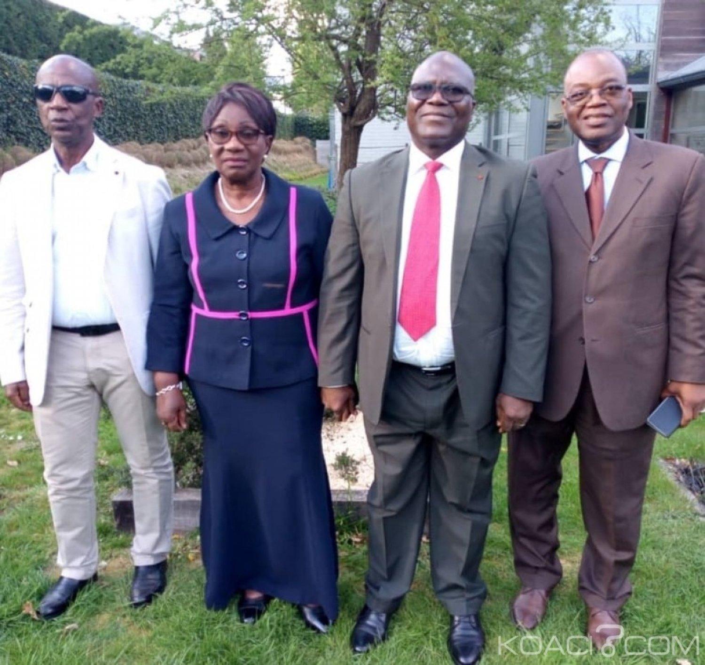Côte d'Ivoire : Audience avec Amani N'Guessan à Bruxelles, Gbagbo dénonce l'ingérence de l'Etat dans  le fonctionnement du FPI
