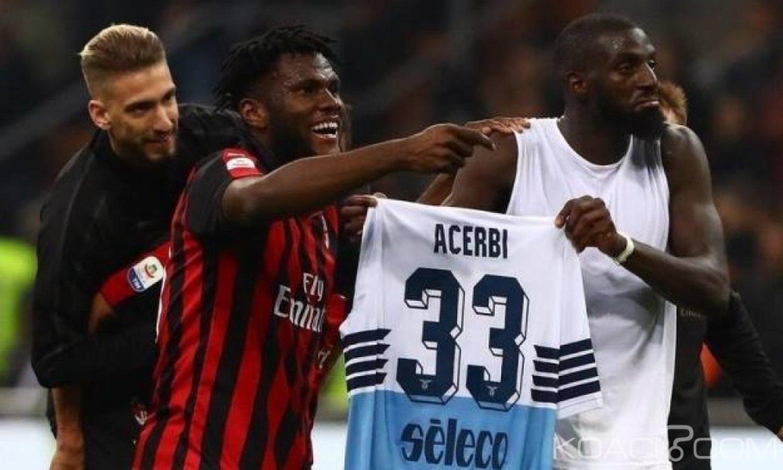 Côte d'Ivoire : Milan AC, Kessié et Tiémoué à l'amende pour avoir chambré un joueur de la Lazio de Rome
