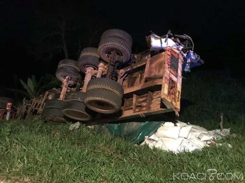 Côte d'Ivoire: Sur l'autoroute du nord, une collision entre un car de transport et un camion fait 44 victimes dont 6 décès