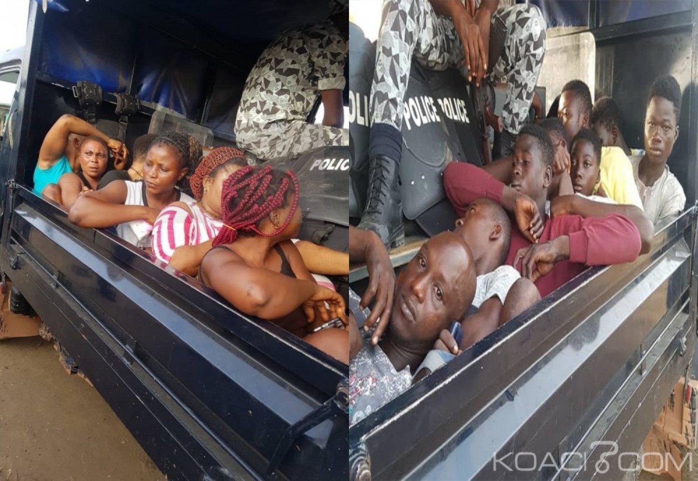Côte d'Ivoire: Opération aseptisation à Abobo, 45 suspects et 09 prostituées interpellés