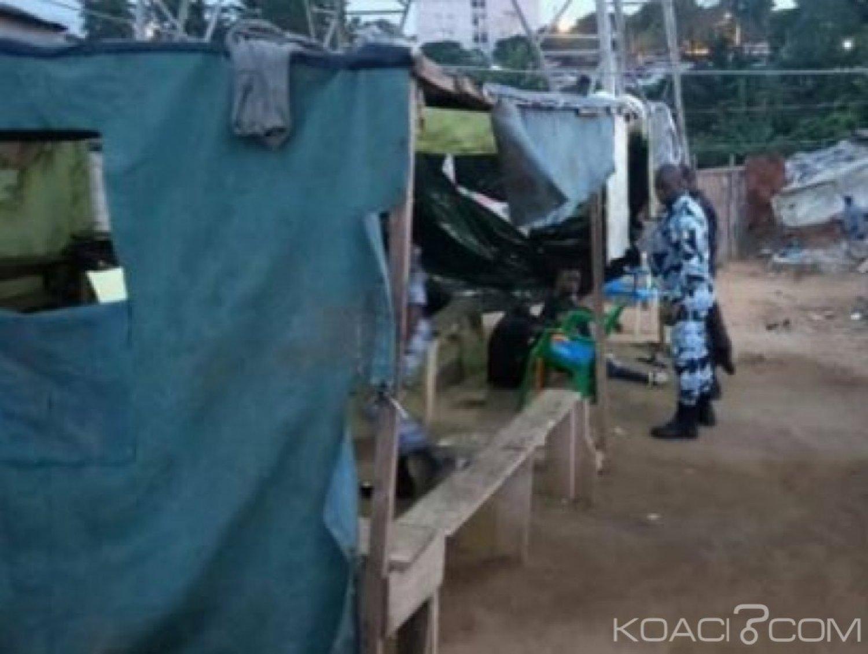 Côte d'Ivoire : A Attécoubé, 48 heures après l'opération épervier, 34 individus interpellés, des fumoirs détruits, de la drogue saisie dans la zone d'un commissariat