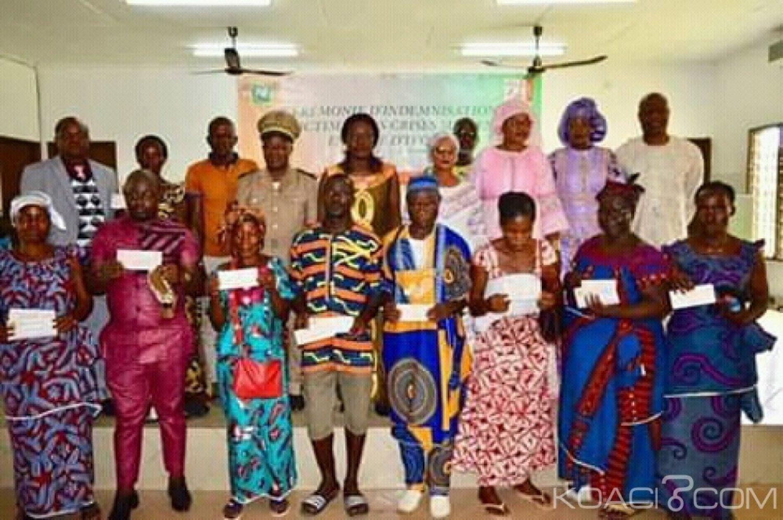 Côte d'Ivoire : Depuis Duekoué, Mariatou Koné aux victimes « éviter les intermédiaires...»
