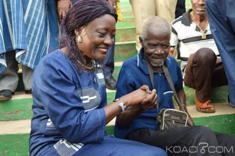 Côte d'Ivoire : À Danané pour l'indemnisation des victimes, Mariatou Koné « évitons les matchs retour...»