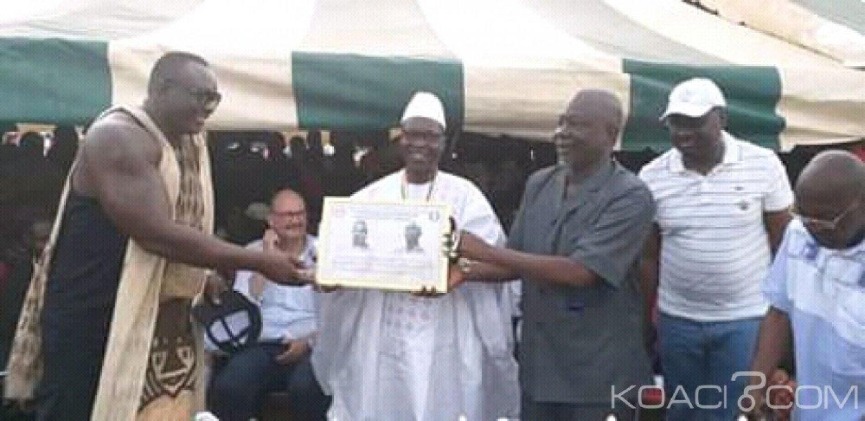 Côte d'Ivoire : Bouaké, pour la célébration de la Pà¢ques,  la lutte traditionnelle s'invite dans la fête