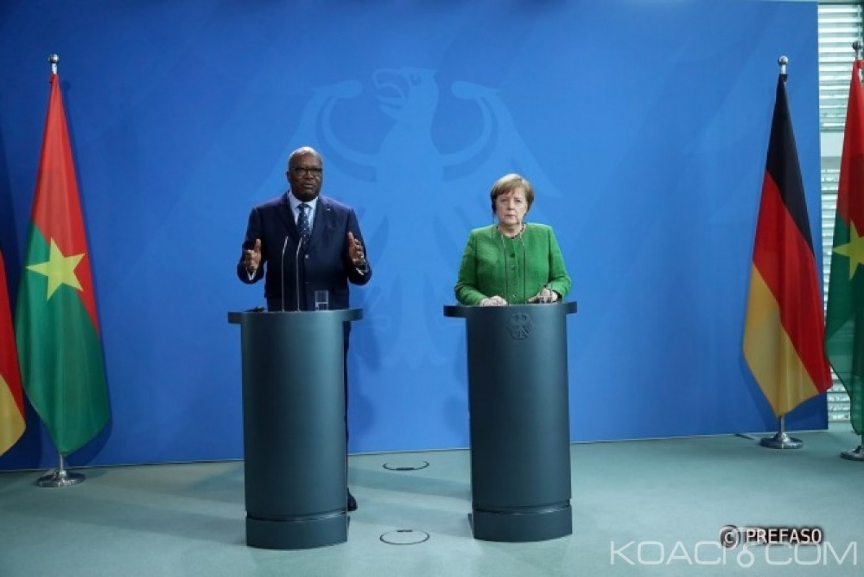 Burkina Faso : La chancelière allemande Angela Merkel annoncée à Ouagadougou en mai