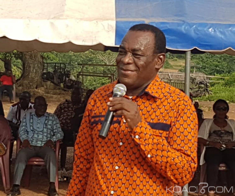 Côte d'Ivoire : Présidentielle 2020, Affi N'guessan en tournée dans la Mé veut être le candidat du FPI