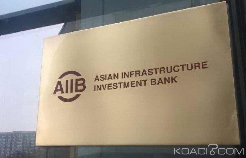 Côte d'Ivoire : La demande du pays  d'adhérer à la Banque asiatique d'investissement des infrastructures (AIIB) approuvée