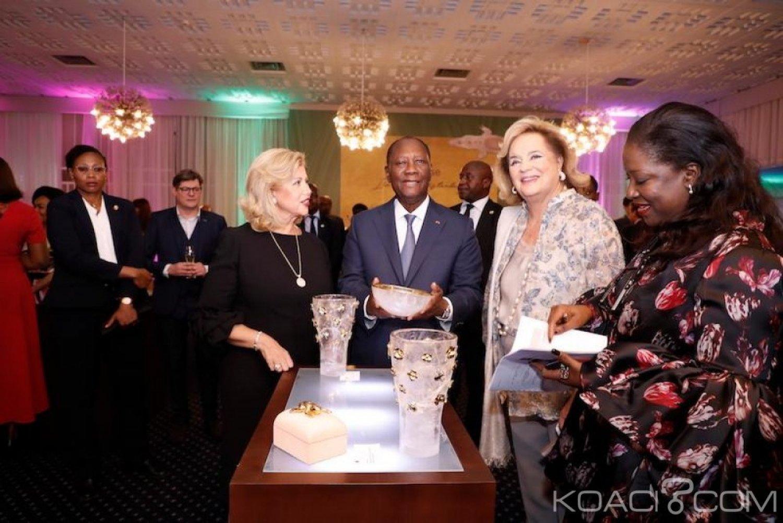 Côte d'Ivoire : Financement du mobilier et de l'aménagement de la «Maison de vie», carton plein pour l'expo «objet uniques» de la princesse Ira de Fürstenberg