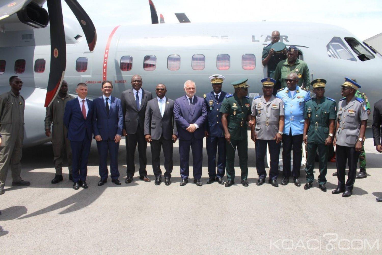 Côte d'Ivoire : Le  nouvel aéronef C295 réceptionné ce jour à Abidjan par Hamed Bakayoko