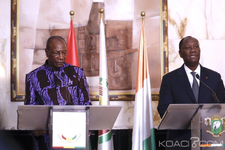 Côte d'Ivoire-Guinée: Depuis Abidjan, Alpha Condé soutient que le débat sur son troisième mandat «ne l'intéresse pas»