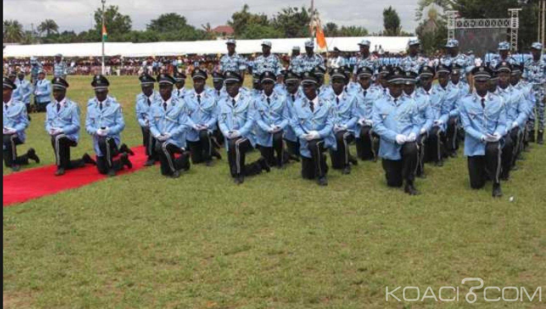 Côte d'Ivoire : Police Nationale, les lauréats  aux concours directs et professionnels session 2018 convoqués lundi
