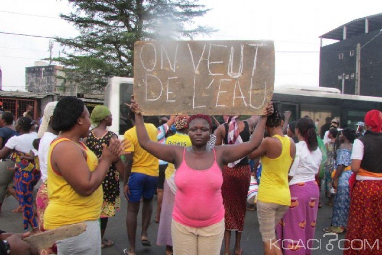 Côte d'Ivoire : Pénurie d'eau à Yopougon, le gouvernement s'est  saisi du problème et promet le rétablissement progressif