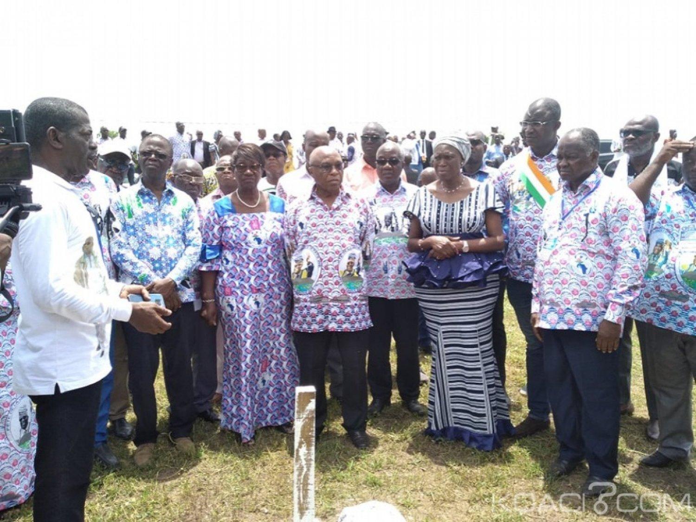 Côte d'Ivoire : Huit ans après la crise post électorale, Simone Gbagbo à  Duekoué sur les fosses communes