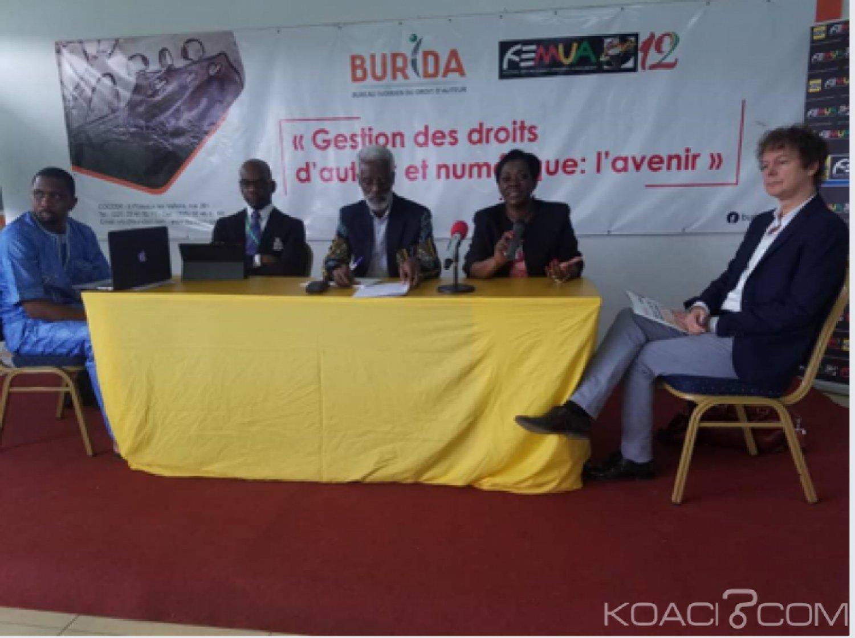 Côte d'Ivoire : « Gestion des droits d'auteur et numérique : l'avenir, l'un des thèmes d'une rencontre professionnelle organisée par le  BURIDA