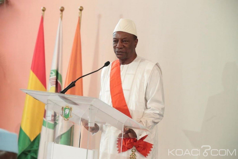 Côte d'Ivoire : Condé à Ouattara «En tant que président, vous êtes père de la nation, vous n'êtes pas président du RHDP»