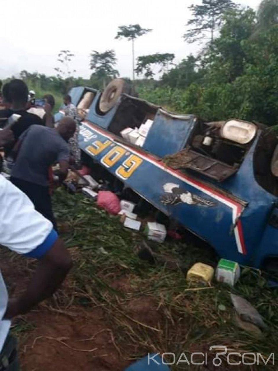 Côte d'Ivoire : Sur l'axe Adzopé Akoupé,  un car plonge dans un ravin et occasionne des morts