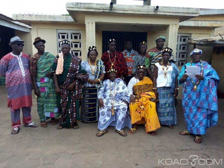 Côte d'Ivoire : Bouaké, une dizaine de têtes couronnées démettent un de leurs collègues des ses fonctions dans le quartier de Kamounoukro
