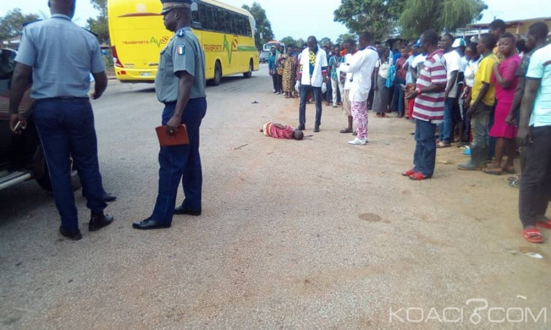 Côte d'Ivoire : Djébonoua, percuté par une voiture, un enfant meurt sur le chemin de l'hôpital