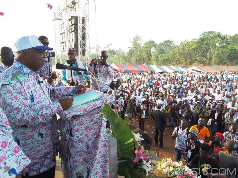 Côte d'Ivoire : À Duekoué, Assoa Adou livre le message de Gbagbo « il faut sauver la Côte d'Ivoire»