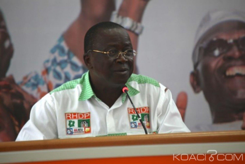 Côte d'Ivoire : Depuis Touba, Adama Bictogo demande à Jeannot Ahoussou Kouadio de clarifier clairement sa position