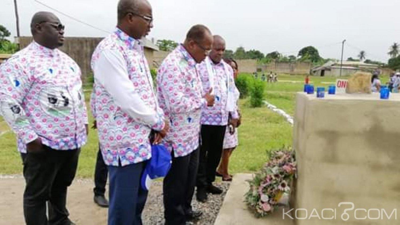 Côte d'Ivoire : A Duekoué, Ouégnin sur les fosses communes « il était de notre devoir de venir apporter le soutien d'EDS à tout le peuple wê »