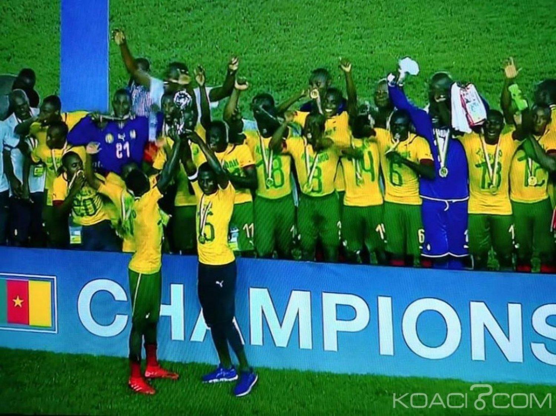 Cameroun : CAN U17, les lionceaux sacrés champions d'Afrique 2019