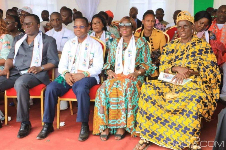 Côte d'Ivoire: Adzopé, Kandia demande aux populations de Yakassé Attobrou de faire confiance à Ouattara car le plus important reste à venir