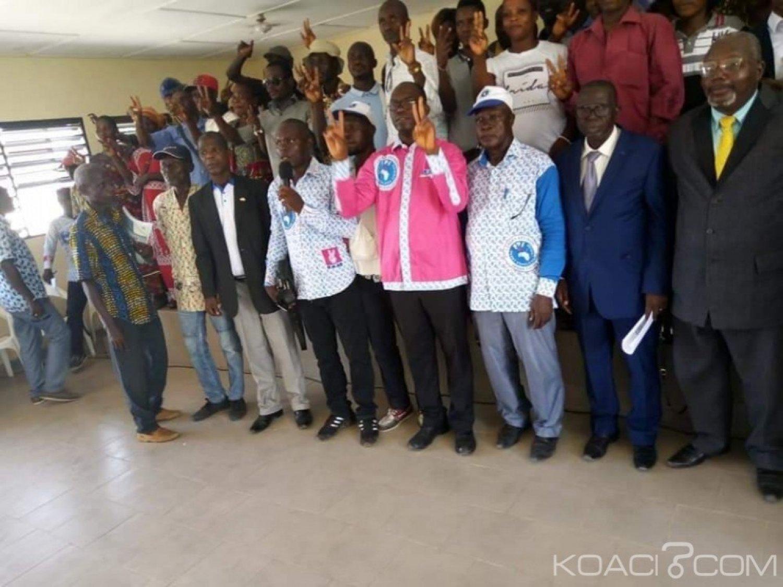 Côte d'Ivoire : Crise FPI, Affi reçoit le soutien des fédéraux de la région du Guemon «qu'on ne vienne pas nous dire que le FPI est la propriété d'une personne aujourd'hui »