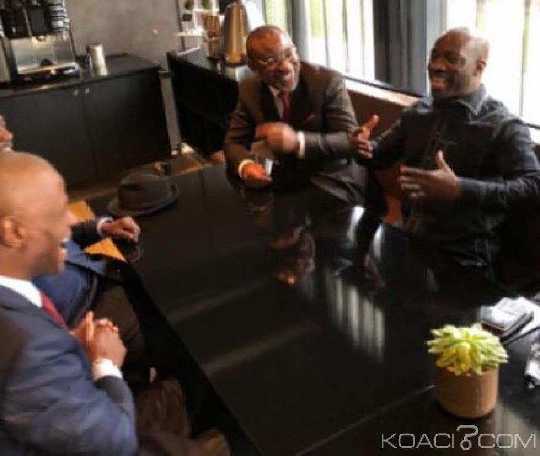 Côte d'Ivoire : Hommes politiques et artistes musiciens échangent avec Blé Goudé
